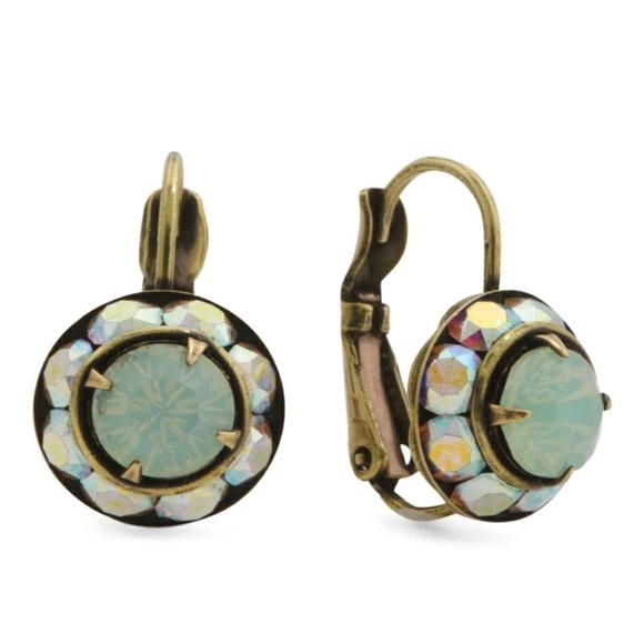 c7d8be0c2 Liz Palacios Jewelry   Opal Chrysolite Rondelle Earrings   Poshmark